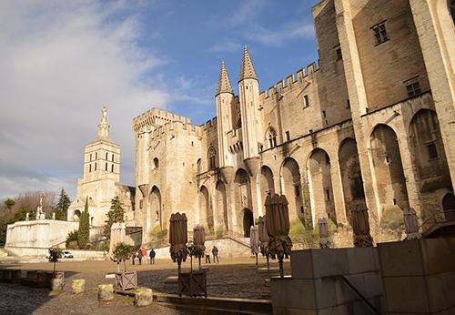 Le château d'Avignon