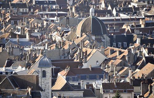 Vue de Besançon
