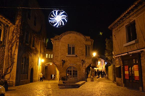 Vue de nuit de Carcassonne