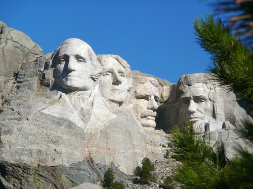 Mont Rushmore aux Etats-Unis