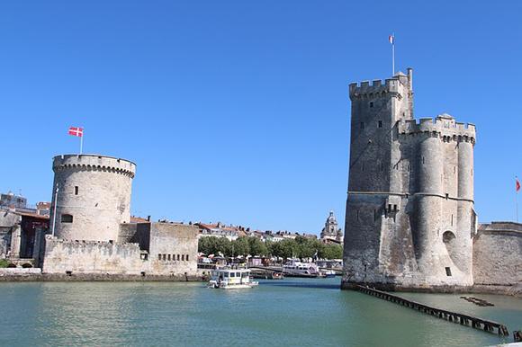 Photo de la mer à La Rochelle