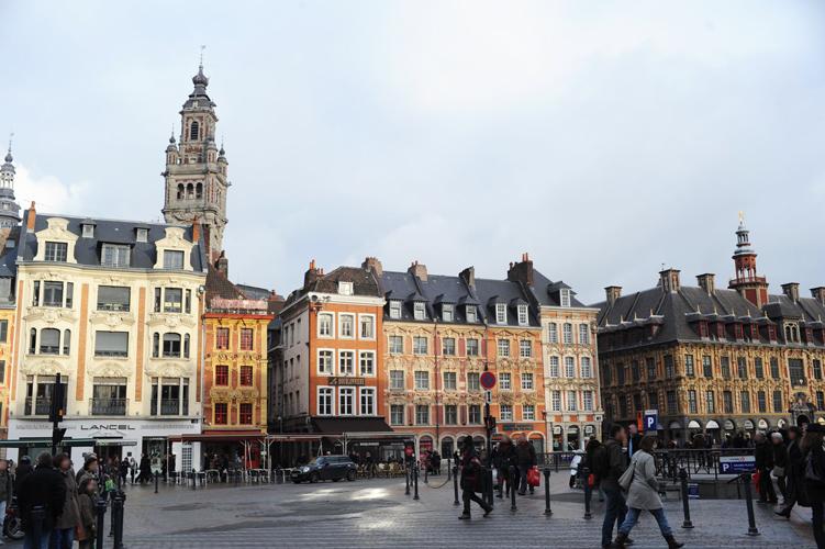Rue à Lille