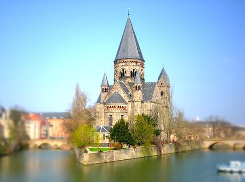 Ville de Metz en Lorraine