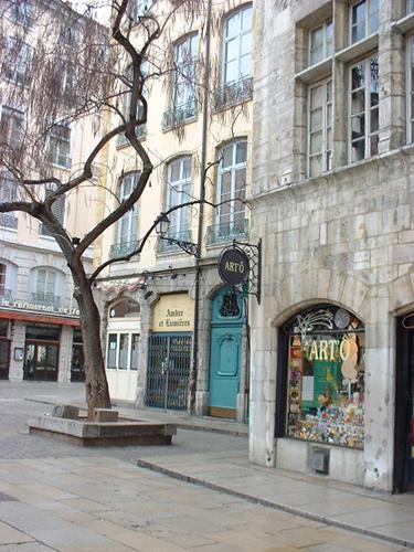 Rue de la ville de Lyon