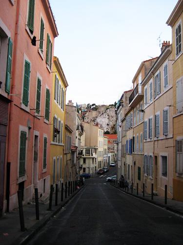 Une rue à Marseille