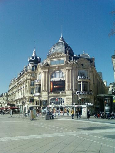 Vue de Montpellier